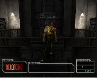 Screenshot Thumbnail / Media File 1 for Resident Evil Survivor [U]